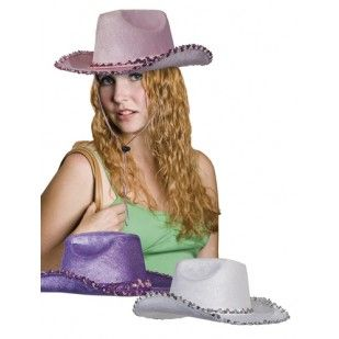 Cowboyhoeden lady. In 3 kleuren verkrijgbaar.