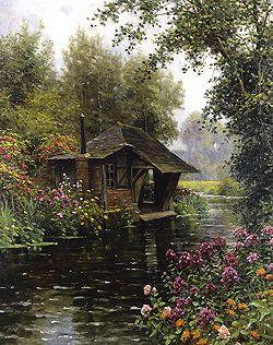 Louis Aston Knight  (1873 - 1948)  A Beaumont-le-Roger