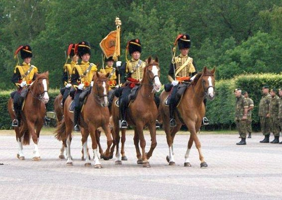 Colour party Korps Rijdende Artillerie 2010