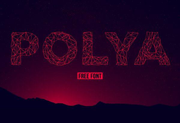 POLYA Typeface - Befonts.com