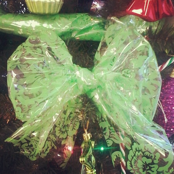 Wrap Film bows!