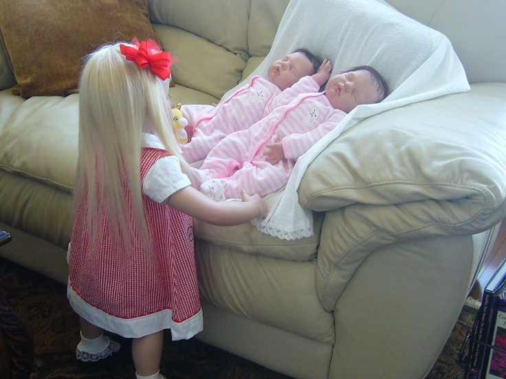 My Toddler Amp Twin Girl Reborns I Did Recently Reborn