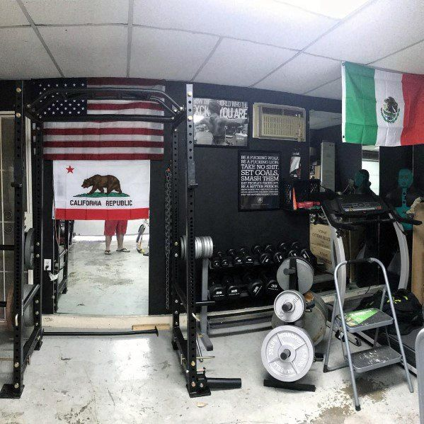 Top best garage gym ideas home fitness center designs home