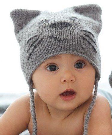 cool Değişik El Örgüsü Bebek Şapkaları