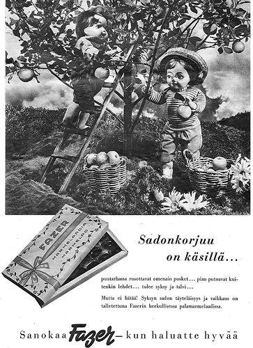 Mainos: Fazer-marmelaadia 1950