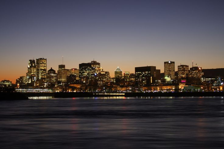 Montreal's skyline by night by jerome.bdg