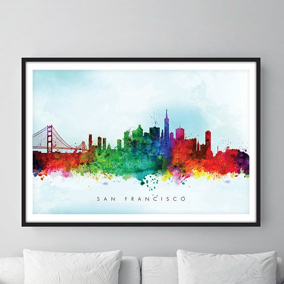 Check out this item in my Etsy shop https://www.etsy.com/uk/listing/526811801/san-francisco-skyline-san-francisco