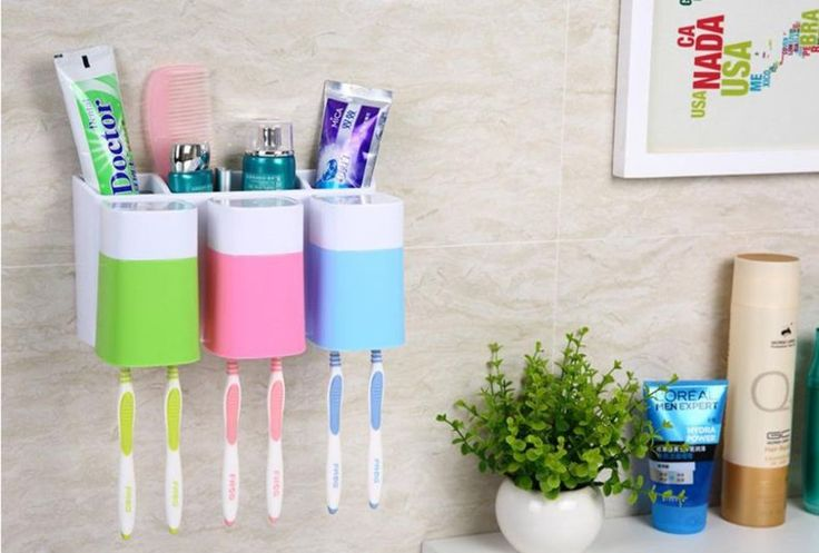 Nothing is worse than when your children mix up their toothbrushes — cue instant fighting. But this color-coded organizer ($16, amazon.com) will prevent mix-ups from even happening. There's even a cubby behind each holder if your kids use different toothpastes.