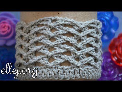 Ребристый узор Чайки по кругу | Crochet by Ellej | Вязание крючком от Елены Кожухарь