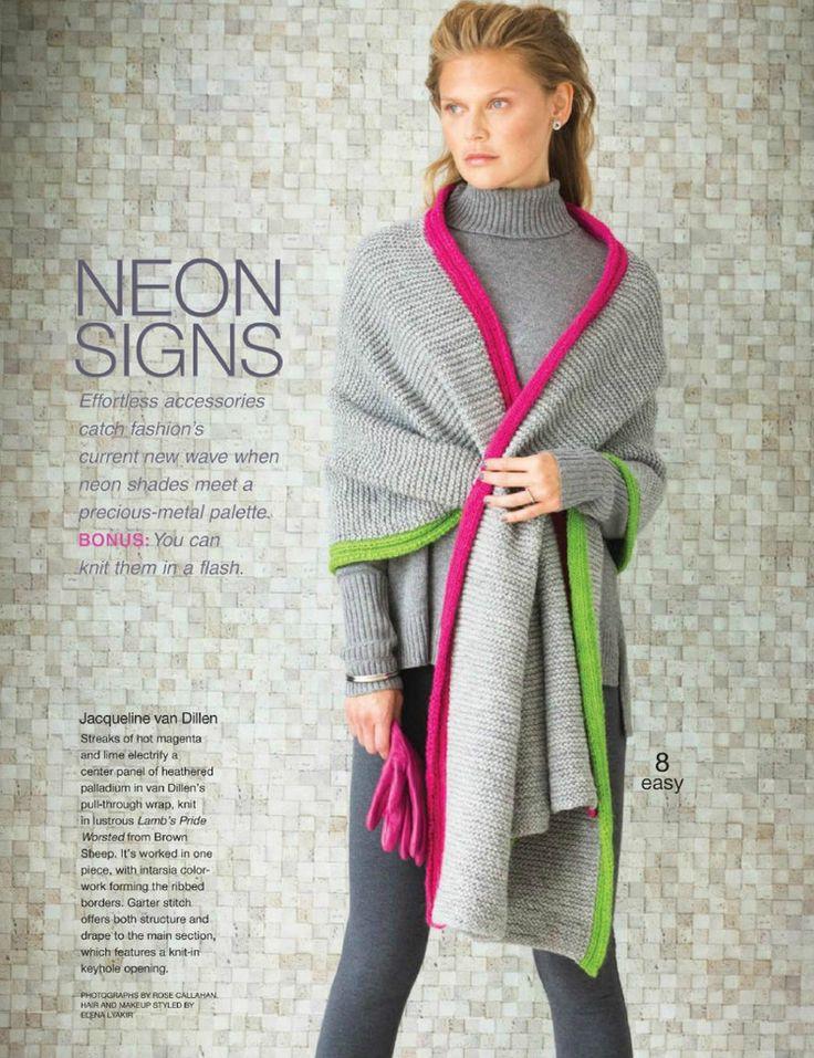 Vogue Knitting Winter 2015/2016 - 轻描淡写 - 轻描淡写                                                                                                                                                                                 Mais