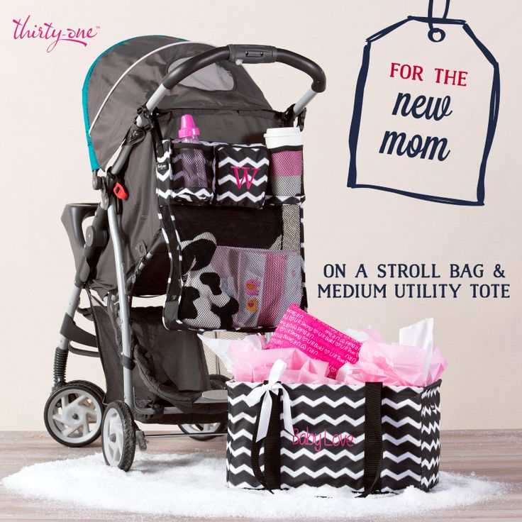 Have a pregnant lady or new mom in your life? On A Stroll Bag & Medium Utility Tote both make great gifts!
