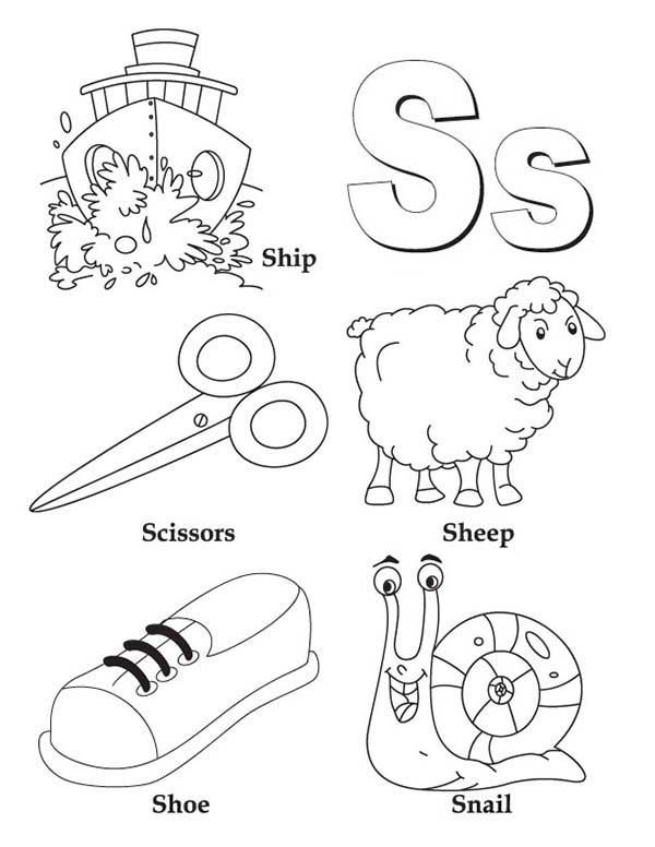 Learn Upper And Lower Case Of Letter S Coloring Page Alphabet Coloring Pages Preschool Coloring Pages Abc Coloring Pages Letter s coloring sheets for preschool