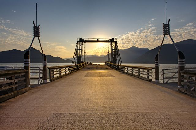 I wanted to get married on this old ferry dock at the Porteau Cove Provincial Park in BC, Canada. Maybe a renewal of vows ceremony?