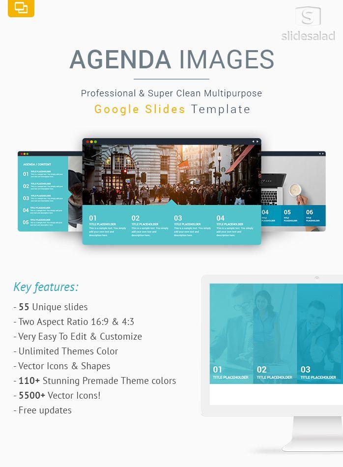Agenda Images Google Slides Template Designs For Presentations