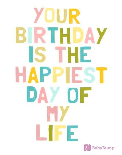 Your birthday is the happiest day of my life. #motherhood #pregnancy #birthday #parenting