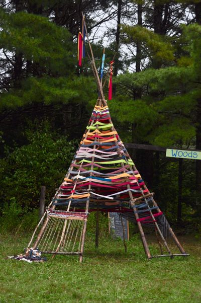 "Weaved tepee - from Meredith Winn ("",)"