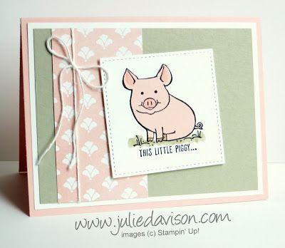 This Little Piggy Swap Card