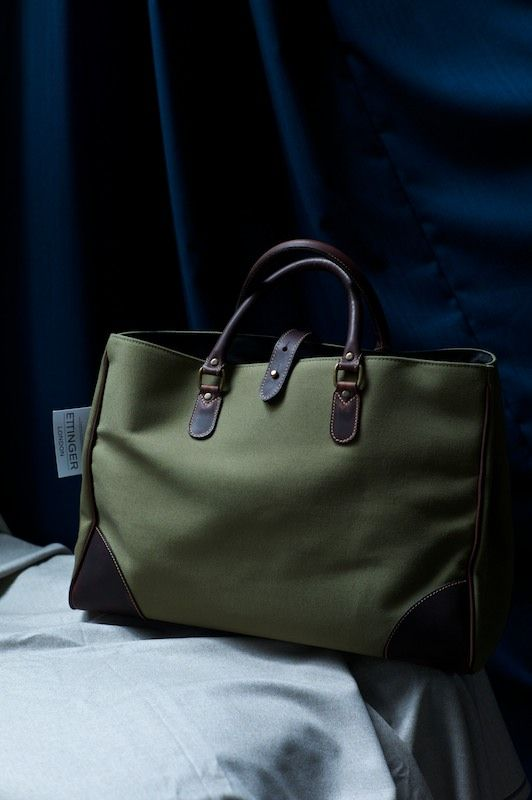 ethandesu: Ettinger Tote New at The Armoury