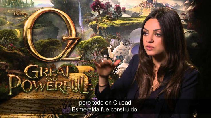 Entrevistas Rachel Weisz, Michelle Williams y Mila Kunis - Oz (HD)