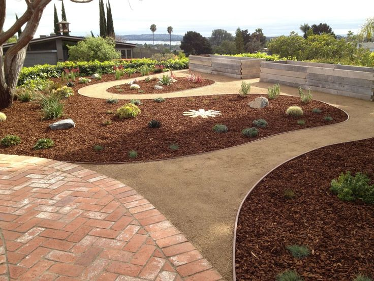 Crushed Granite Mulch : Best images about landscape mulch on pinterest front
