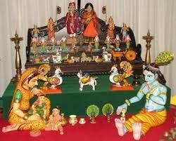 Image result for dasara dolls arrangement