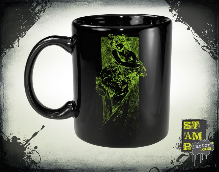 Nymph (Cyber Green) 2014 Collection - © stampfactor.com *MUG PREVIEW*