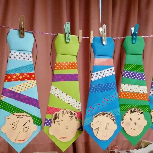 【アプリ投稿】父の日プレゼント製作二歳児 | みんなのタネ | あそびのタネNo.1[ほいくる]保育や子育てに繋がる遊び情報サイト
