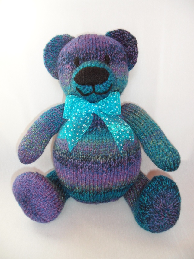 9 Best Images About Teddy Bears Knitted On Pinterest
