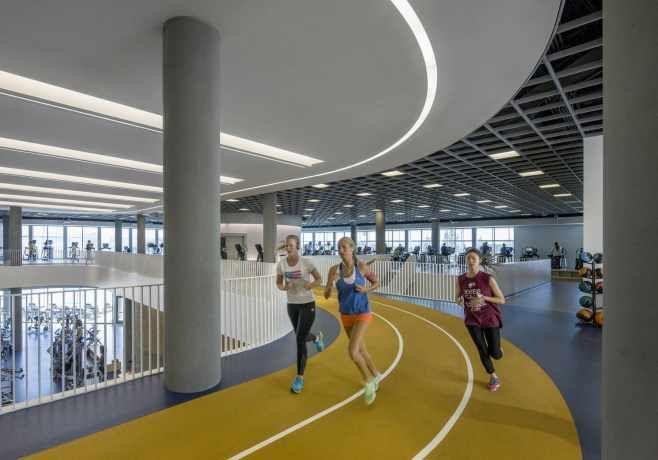 Fitness Center Gym Architecture Gym Interior Recreation Centers
