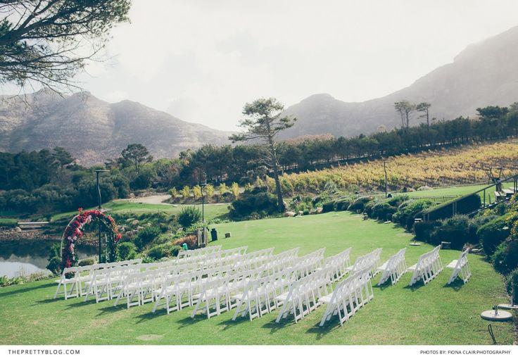 Wedding Venue - Cape Point Vineyards. Stunning location for wedding ceremony.  #weddingvenue #capepointvineyards #wedding #reception
