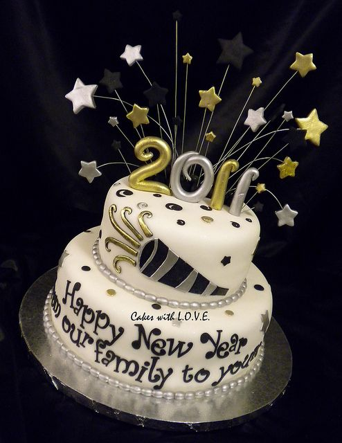 Happy New Year 2011 by Cakes with L.O.V.E., via Flickr