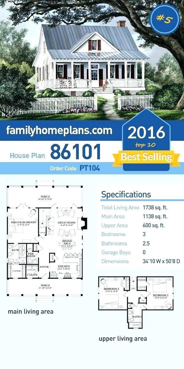 House Plans For Small Farmhouse 2021 Rumah Pedesaan Arsitektur Denah Rumah