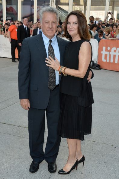 Dustin Hoffman and wife Lisa Hoffman attend the 'Boychoir' premiere during the 2014 Toronto International Film Festival at Roy Thomson Hall on September 5, 2014 in Toronto, Canada