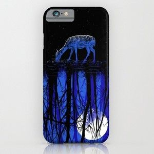 Deep Blue Forest iPhone 6s Case