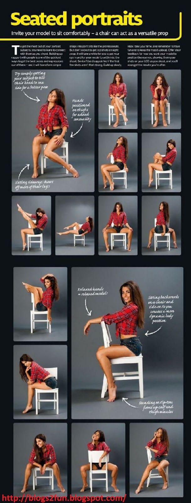 How to pose a Portraits