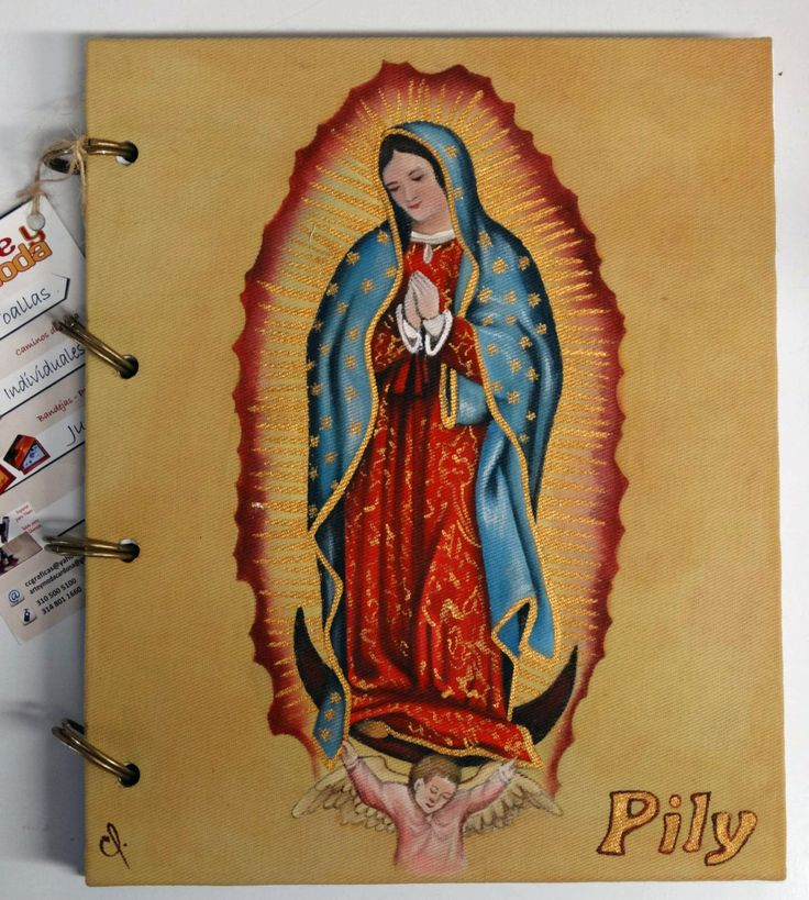 Agendas pintadas. Painted books