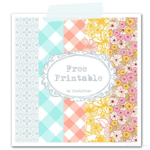 lovely collection of {free} printables