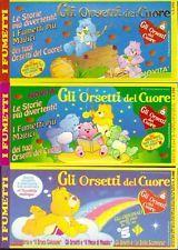 GLI ORSETTI DEL CUORE lotto giornalini EDIZIONE STUDIOS 1993