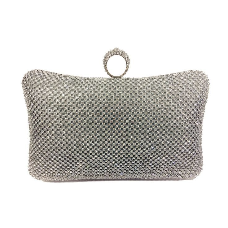 Silver clutch bag UK | Add some sparkle to your life with this stunning clutch bag.   The perfect accessory to complement your Showstopper Necklace, therefore we have named it the Showstopper Clutch Bag.  The bag does not catch or ruin clothing due to its great design | evening bags | evening bags clutch | #Accessories | #Fashion | #Style |