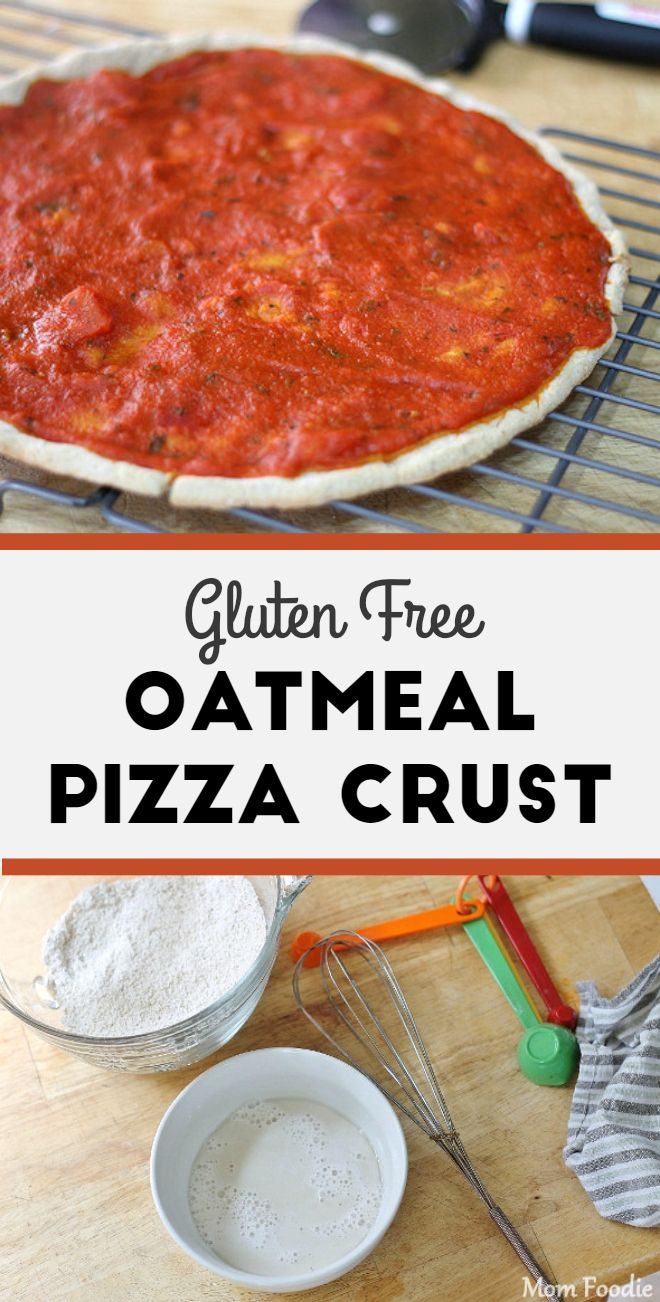 Gluten-Free Oatmeal Pizza Crust Recipe