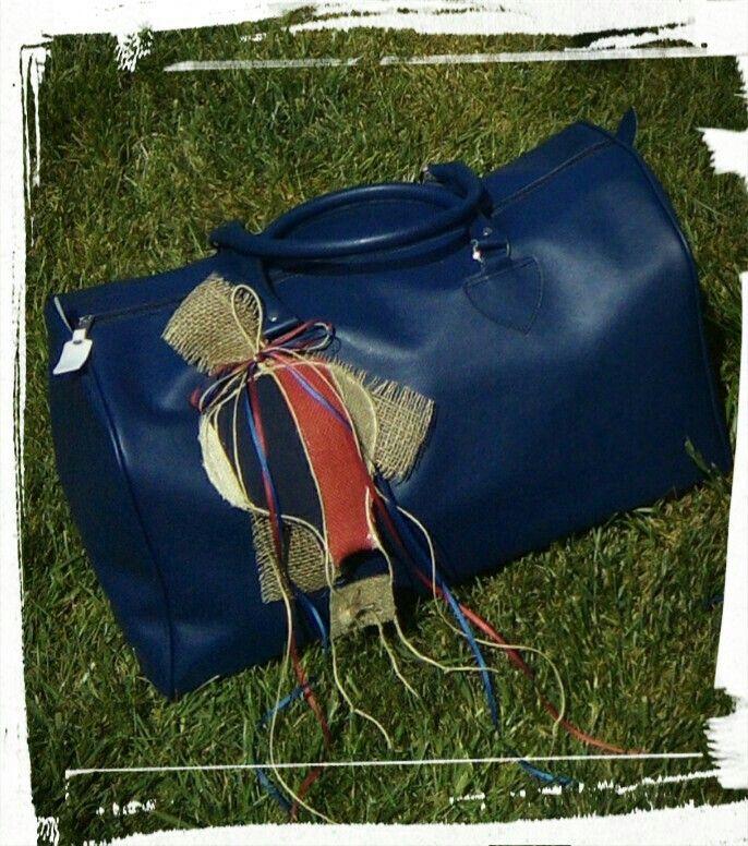 Τσάντα Βάπτισης με θεμα το Αερόστατο! !!