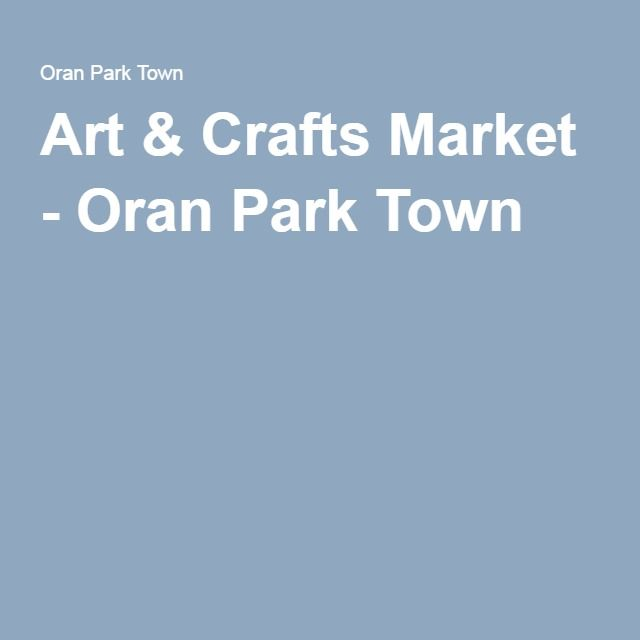 Art & Crafts Market - Oran Park Town