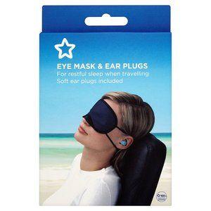 Superdrug Eye Mask & Ear Plus £2.99 Superdrug