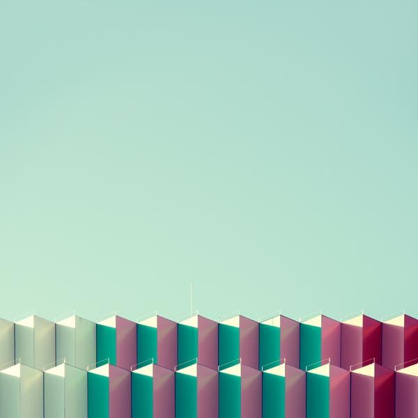 Repetitive Forms in Architecture - Photography by Nick Frank