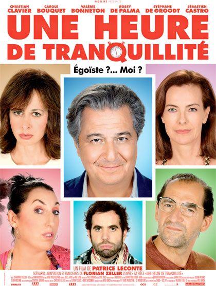 Tutti Pazzi in Casa Mia (Une Heure de Tranquillitè) è la nuova commedia francese diretta da Patrice Leconte che Filmauro ha deciso di portare in tutte le sale italiane dal prossimo 29 Ottobre. Non ...