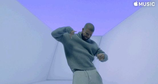 "Pin for Later: This Is Honestly the Best Part of Drake's ""Hotline Bling"" Video The Turtleneck"