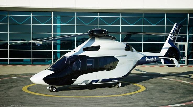 The new Airbus H160 medium-lift helicopter