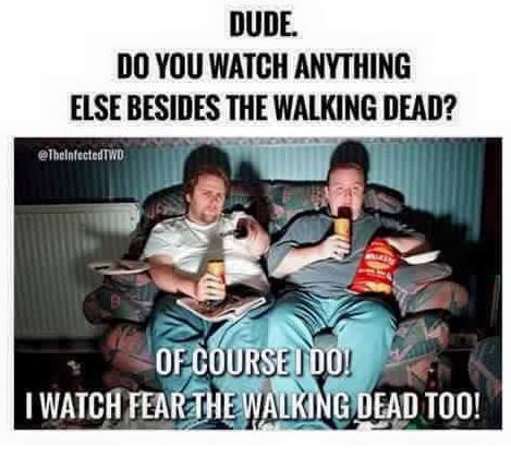 Fear The Walking Dead funny meme