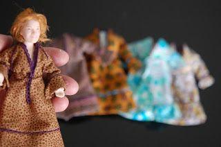 Tarun nuket - Miniature dolls by Taru Astikainen: naiset