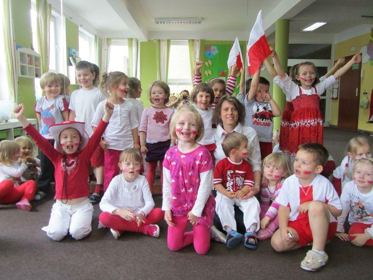 Przedszkolne świętowanie EURO 2012
